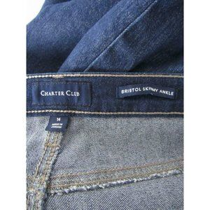 Charter Club Jeans - Charter Club Dark Laced Up Ankle Bristol Jeans